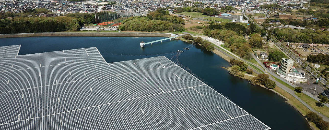 Floating solar services