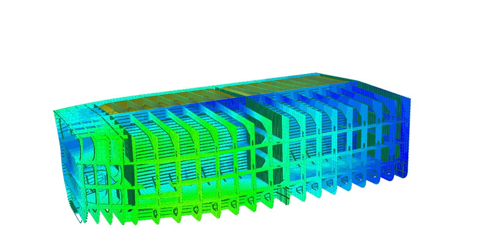 Nauticus Hull Finite Element Analysis for ships