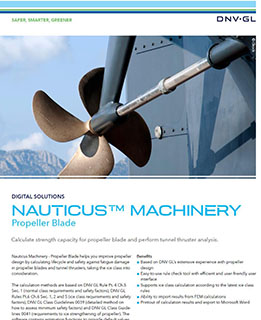 Nauticus Machinery Propeller Blade