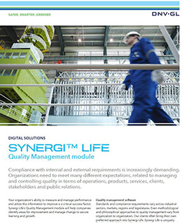 Synergi Life Activity Management